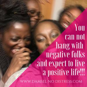 Positive Squad Positive Life| DamselNODistress.com