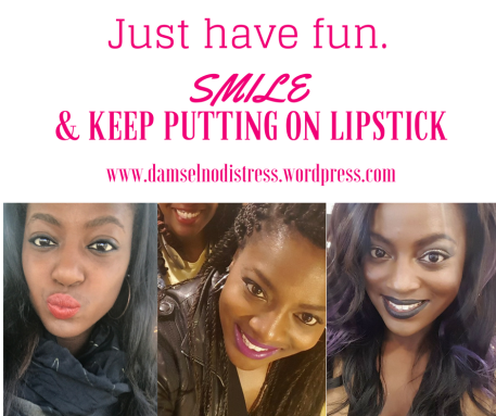fun smile lipstick No Distress